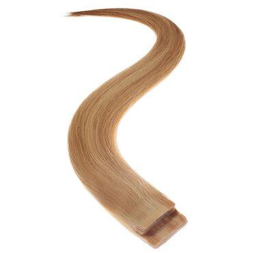 Satin Strands Tape-In Half Head Human Hair Extension - Sahara 18 Inch