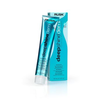 Rusk Deepshine Demi Semi-Permanent Hair Colour - 9.01A Very Light Ash Blonde 100ml