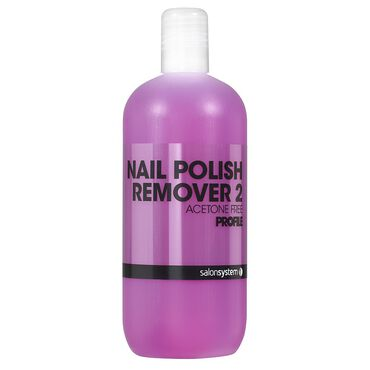 Salon System Polish Remover Non Acetone 500ml