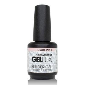 Gellux Builder Gel - Light Pink 15ml