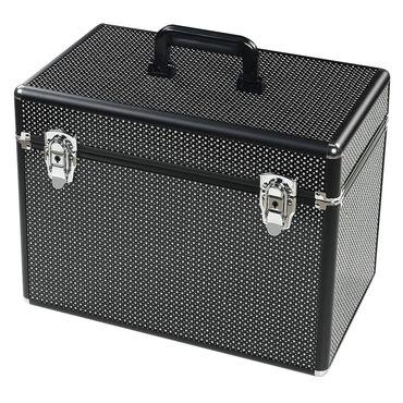 S-PRO Large Vanity Case, Black, Diamond