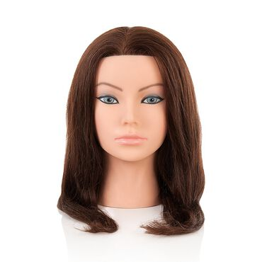 Salon Services Emily 14 18 Brunette Manikin Head
