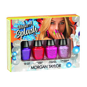 Morgan Taylor Make a Splash Collection Summer 2018 Mini Lacquer 4pk 4 x 5ml