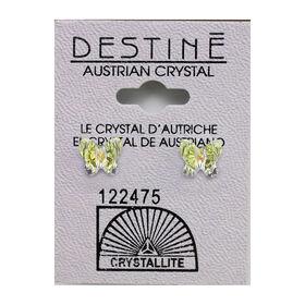 Crystallite Butterfly Stud Earrings