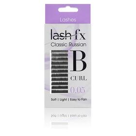 Lash FX Classic Russian Lashes B Curl 0.05 - 11mm