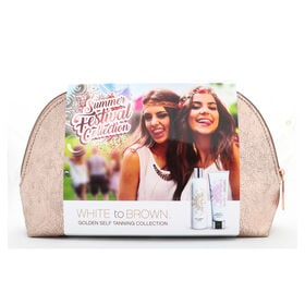 White to Brown Summer Festival Self Tanning Collection Kit