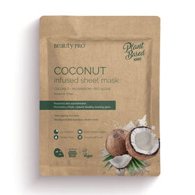 Beauty Pro Natura Coconut Oil Infused Sheet Mask 22ml