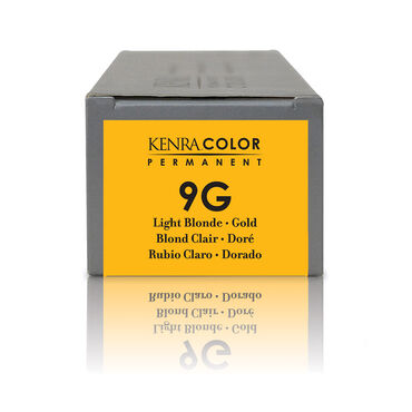 Kenra Professional Permanent Hair Colour - 9G Gold 85g