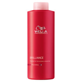 Wella Professionals Brilliance Shampoo for Coloured Fine to Normal Hair 1L
