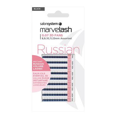 Marvelash 0.07 3D Fans Assorted Lashes