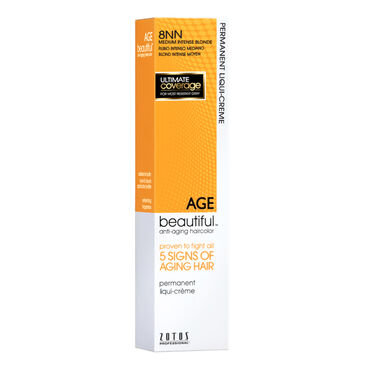 AGEbeautiful Permanent Hair Colour - 8NN Medium Intense Blonde 60ml