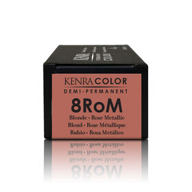 Kenra Professional Metallic Collection Demi-Permanent Hair Colour - 8RoM Rose Metallic 58.2 g
