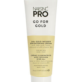 Nails Inc Pro 24k Gold Infused Brightening Cream - Go For Gold 75ml