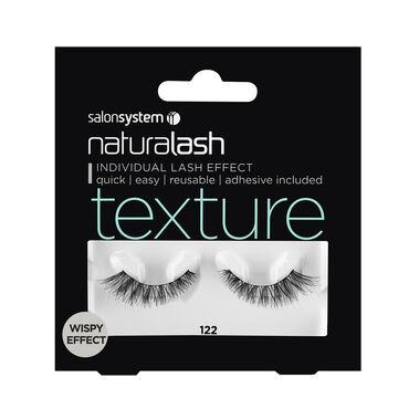6f9508a0986 Naturalash Wispy Effect Texture Strip Lashes 122 | Strip Eyelashes | Salon  Services
