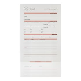 Brow Perfect Consultation Cards