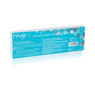 Hive of Beauty Paper Waxing Strips Pack of 100
