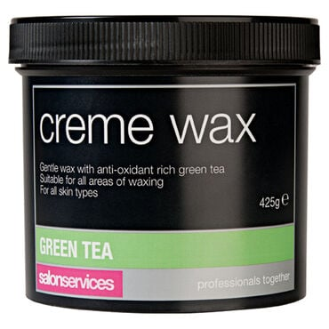 Salon Services Crème Wax Green Tea 425g