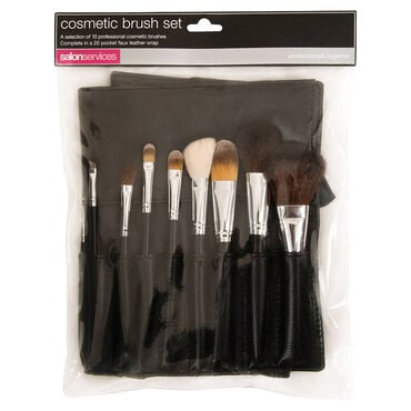 Salon Services Cosmetic Brush Set Pack of 10