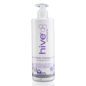 HIVE Simply The Face and Body Massage Cream 490ml