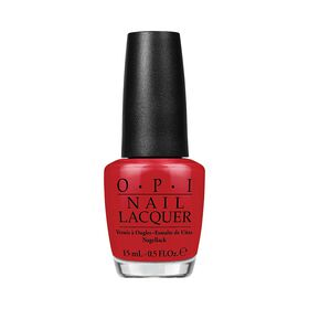 OPI Nail Lacquer - Red Hot Rio 15ml