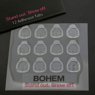 Bohem Adhesive Tabs Pack of 12