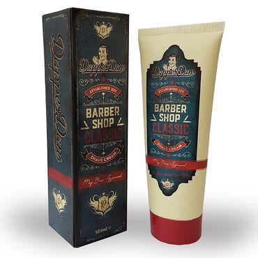 Dapper Dan Barbershop Classic Shave Cream 125ml