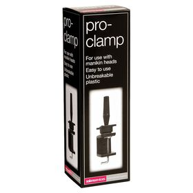 Salon Services Training Head Clamp Black