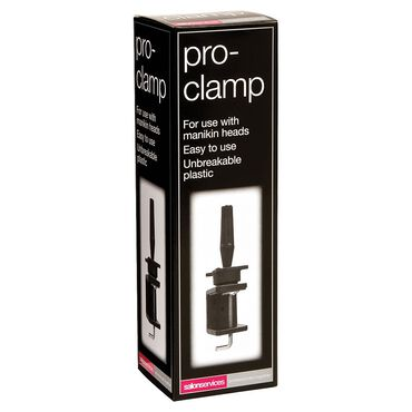 Salon Services Training Head Clamp Black