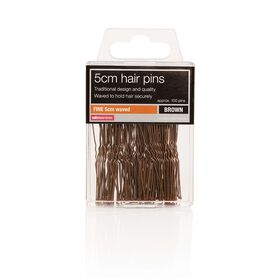Salon Services Hair Pins Brown Pack of 100