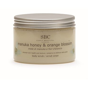 SBC Manuka Honey and Orange Blossom Body Scrub