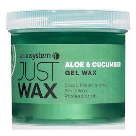 Just Wax Aloe Vera and Cucumber Gel Wax 450g
