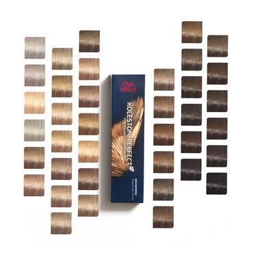 Wella Professionals Koleston Perfect Permanent Hair Colour 10/16 Lightest Blonde Ash Violet Rich Naturals 60ml