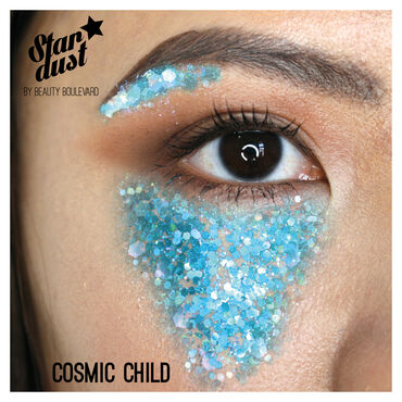 Beauty Boulevard Stardust Face, Body And Hair Glitter Kit Cosmic Child