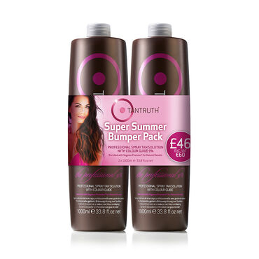 Tantruth The Professional Spray Tan Solution 9% Bumper Pack, 2x1000ml
