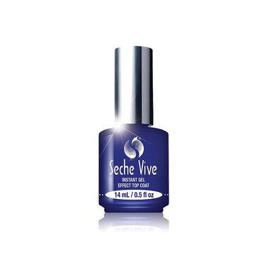 Seche Vite Vive Nail Treatment Instant Gel Effect Top Coat 14ml