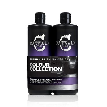 TIGI Catwalk Fashionista Shampoo & Conditioner Tween Pack