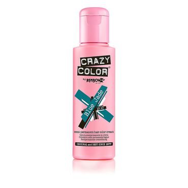 Crazy Color Semi Permanent Hair Colour Cream - Blue Jade 100ml