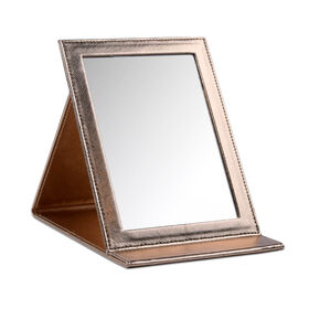 Easel Mirror, Rose Gold
