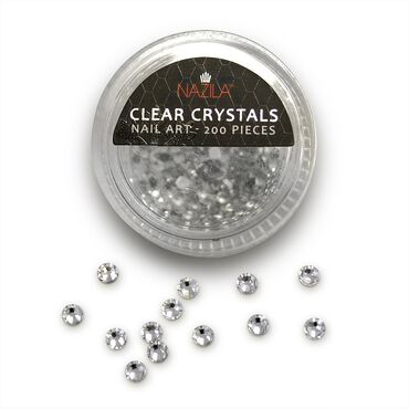 Nazila Love Glamour White Crystal Rhinestones Pack of 200