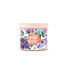 S-PRO Botanical Collection Peach with Orange Flower Extract Gel Wax Pot, 425g