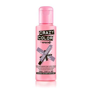 Crazy Color Semi Permanent Hair Colour Cream - Ice Mauve 100ml
