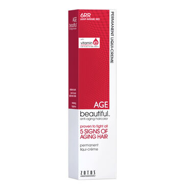 AGEbeautiful Permanent Hair Colour - 6RR Light Intense Red 60ml