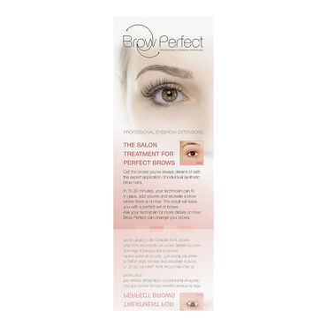 Brow Perfect Salon Leaflets
