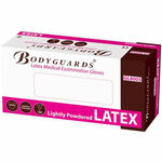 Body Guards Latex Medical Gloves - Small