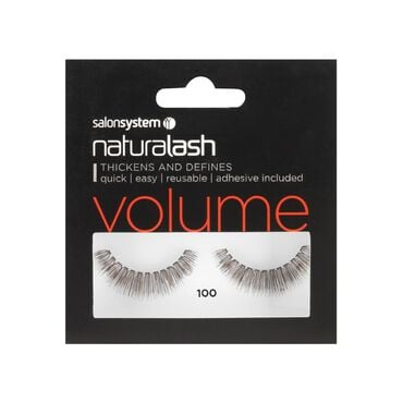 Salon System Naturalash Strip Lashes Volume 100