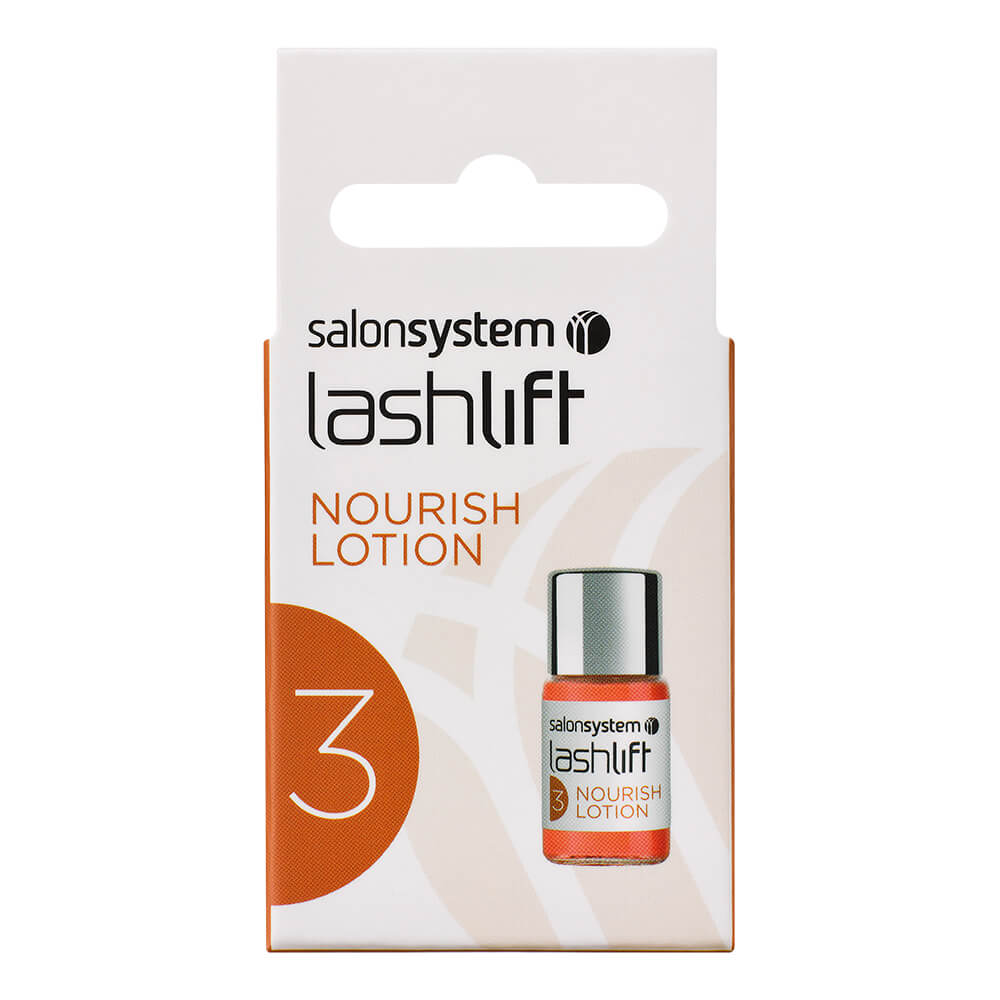 Salon System Eyelash Perming Nourishing Lotion Eyelash Lift Perm