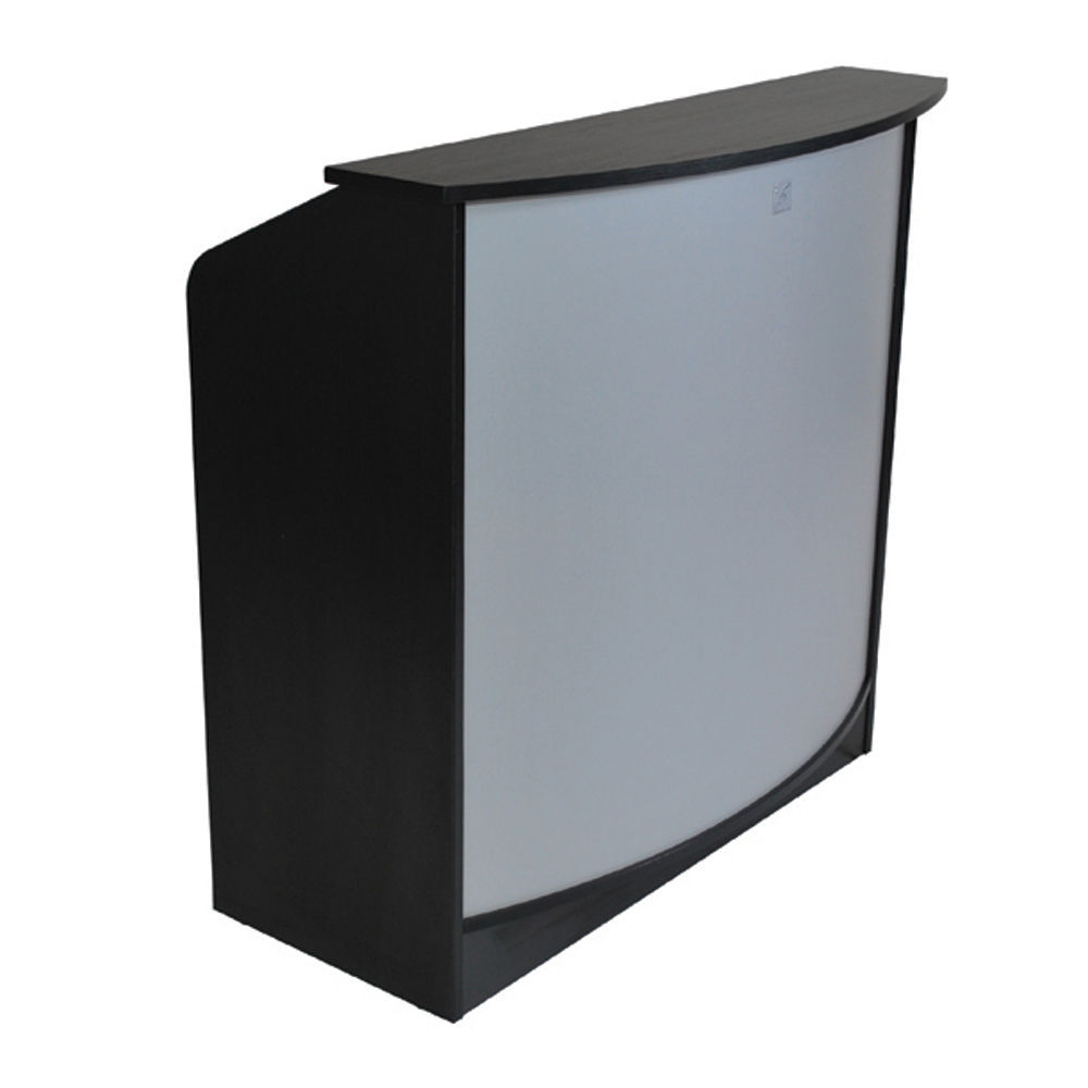 Anabel Reception Desk Black Hair Salon Furniture Equipment Services