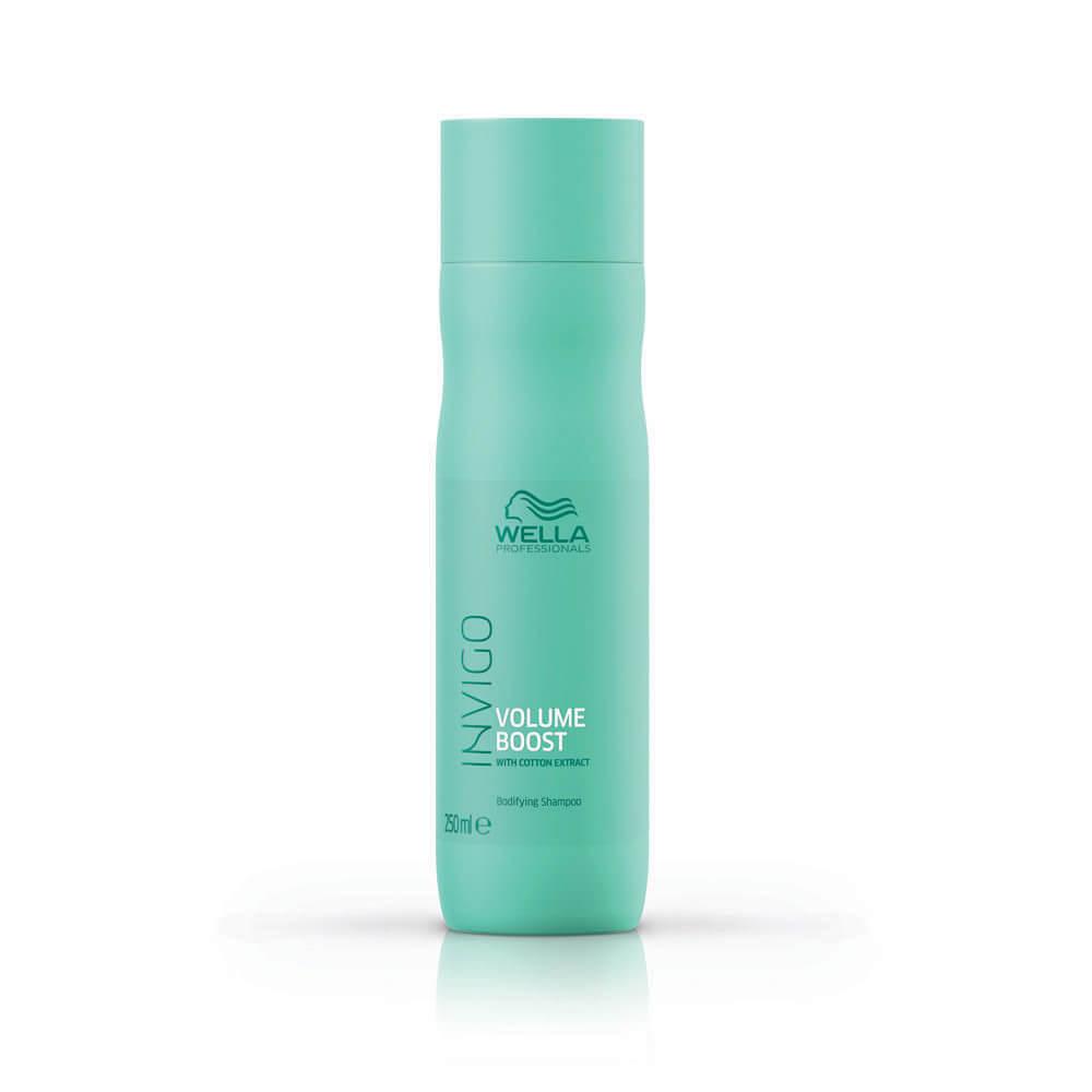 Wella Professionals Invigo Volume Boost Shampoo 250ml Direct For Men Deodorant Body Spray Speed 150ml Salon Services