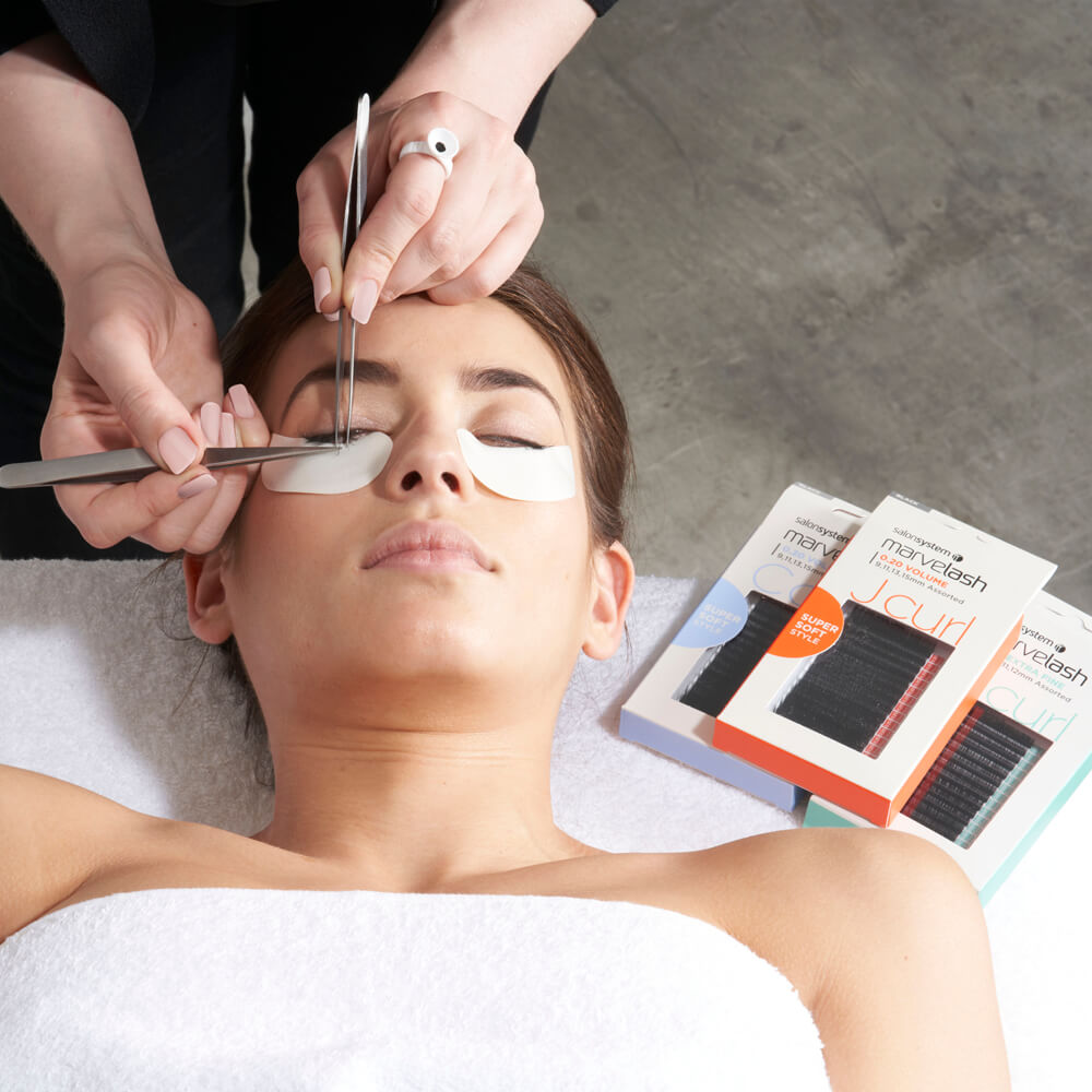 9e597f8647f Salon System Marvelash Eyelash Extensions Course | Brows, Lashes & Makeup  Courses | Salon Services