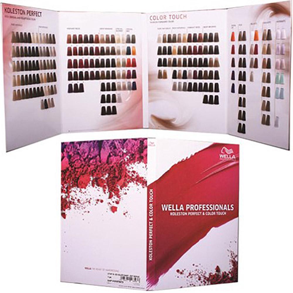 Wella Koleston Colour Chart Color Touch Shade Chart Salon Services
